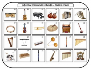 photograph regarding Musical Bingo Cards Printable referred to as Musical software bingo -