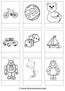 Toys Worksheets And Downloads Lessonsense Com