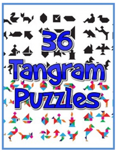 Tangram Outline Solutions Png & Free Tangram Outline Solutions.png  Transparent Images #12528 - PNGio