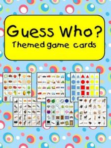 graphic about Guess Who Cards Printable named Bet Who? themed activity add playing cards -